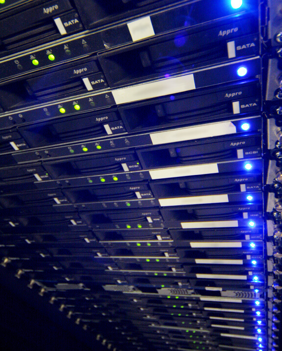 full racks at our data centre
