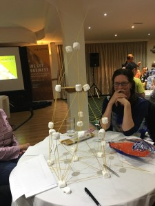 marshmallow tower
